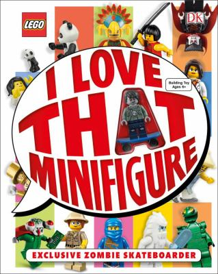 Cover image for I love that minifigure