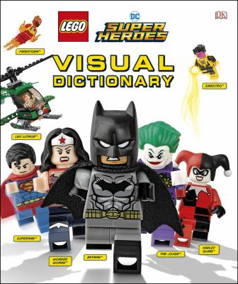 Cover image for LEGO DC super heroes visual dictionary