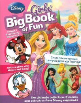 Cover image for Disney girls' big book of fun.
