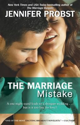 Cover image for The marriage mistake