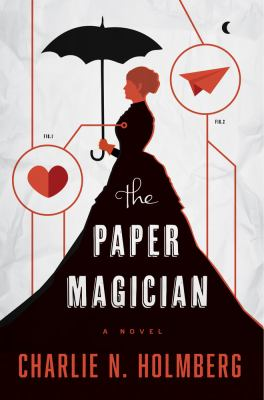 Cover image for The paper magician
