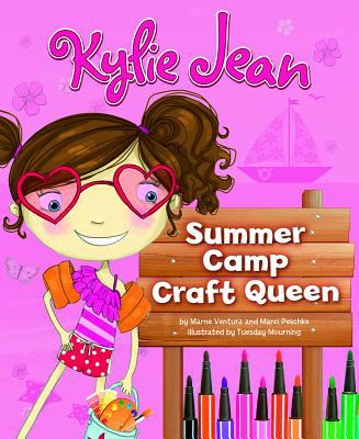Cover image for Kylie Jean summer camp craft queen