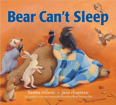 Cover image for Bear can't sleep