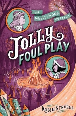 Cover image for Jolly foul play : a Wells & Wong mystery