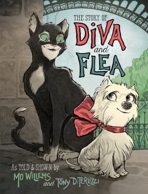 Cover image for The story of Diva and Flea