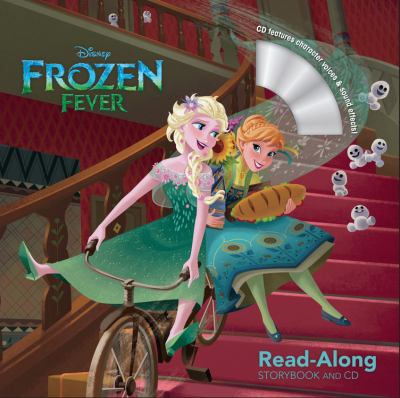 Cover image for Frozen fever : read-along storybook and CD