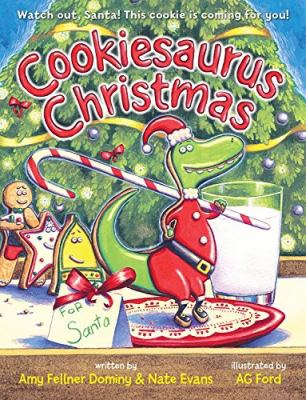 Cover image for Cookiesaurus Christmas