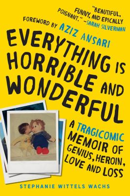 Cover image for Everything is horrible and wonderful : a tragicomic memoir of genius, heroin, love, and loss