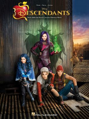 Cover image for Descendants : music from the Disney Channel original movie.
