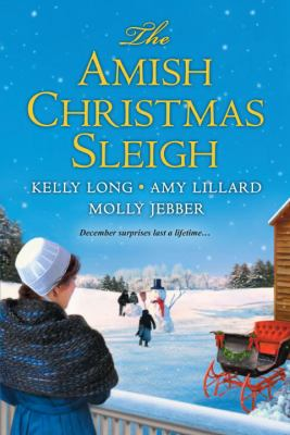 Cover image for The Amish Christmas sleigh