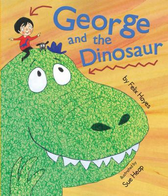 Cover image for George and the dinosaur