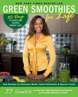 Cover image for Green smoothies for life