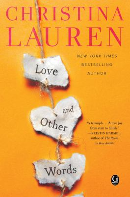 Cover image for Love and other words