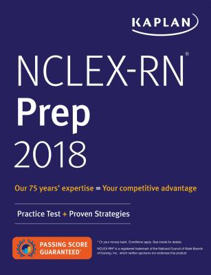 Cover image for NCLEX-RN Prep 2018 : practice test + proven strategies