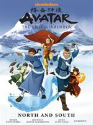 Cover image for Avatar, the last airbender. North and south