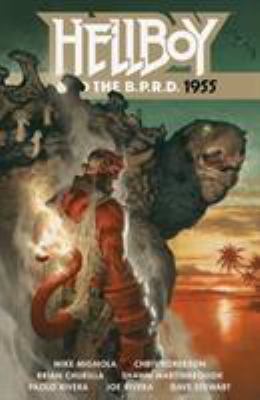 Cover image for Hellboy and the B.P.R.D., 1955