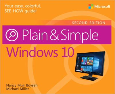 Cover image for Windows 10 plain & simple