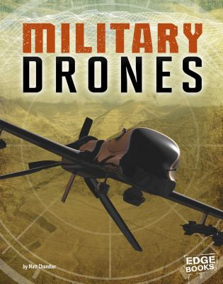 Cover image for Military drones