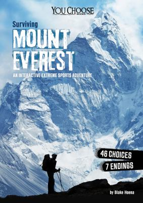Cover image for Surviving Mount Everest : an interactive extreme sports adventure