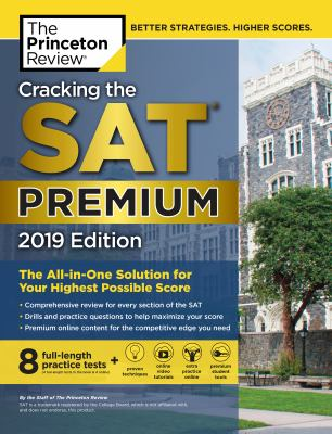 Cover image for Cracking the SAT premium