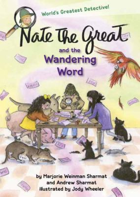 Cover image for Nate the Great and the wandering word