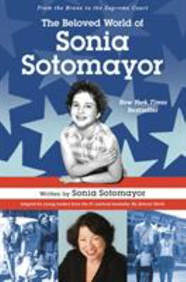 Cover image for The beloved world of Sonia Sotomayor