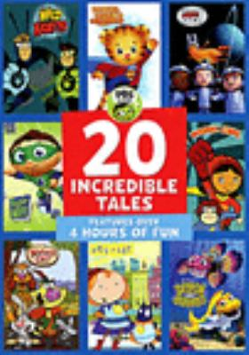 Cover image for PBS Kids. 20 incredible tales.