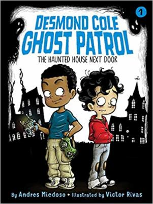 Cover image for The haunted house next door