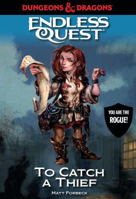 Cover image for Dungeons & Dragons. Endless quest : to catch a thief