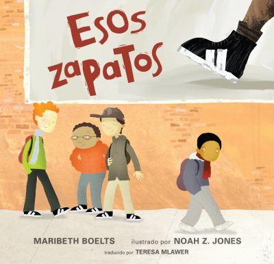 Cover image for Esos zapatos