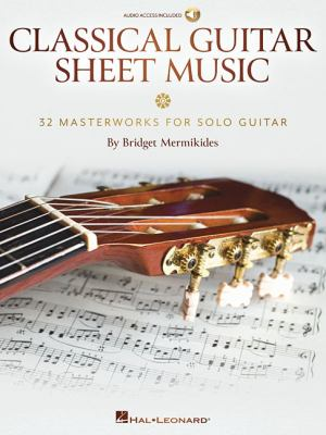 Cover image for Classical guitar sheet music
