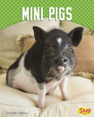 Cover image for Mini pigs