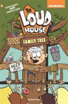Cover image for The Loud house. #4, Family tree.