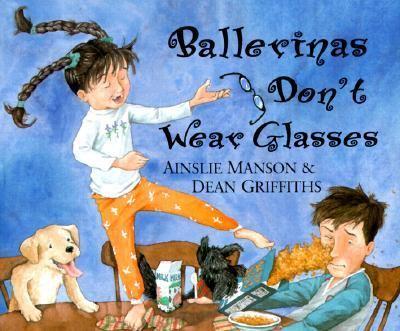 Cover image for Ballerinas don't wear glasses