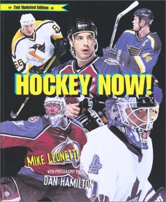 Cover image for Hockey now!