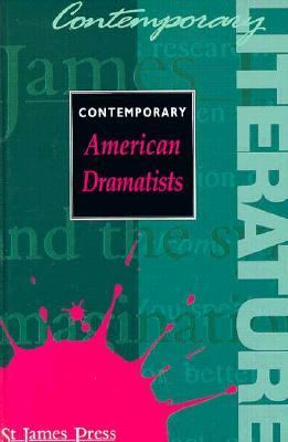 Cover image for Contemporary American dramatists
