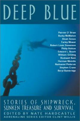 Cover image for Deep blue : stories of shipwreck, sunken treasure and survival