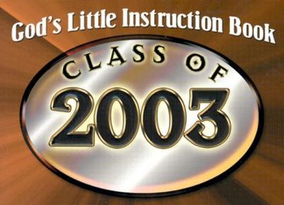 Cover image for God's little instruction book : class of 2003.