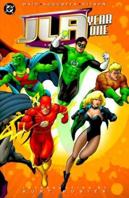 Cover image for JLA, year one