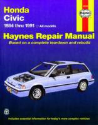 Cover image for Honda Civic automotive repair manual