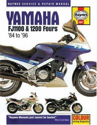 Cover image for Yamaha FJ1100 & 1200 owners workshop manual