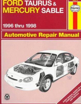 Cover image for Ford Taurus & Mercury Sable automotive repair manual