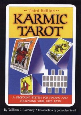 Cover image for Karmic tarot : a profound system for finding and following your life's path