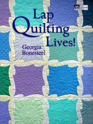 Cover image for Lap quilting lives!