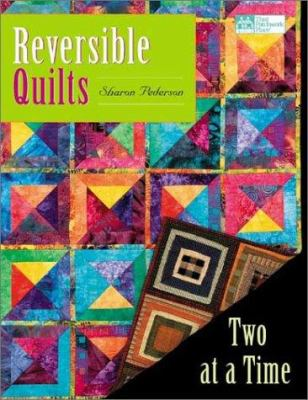 Cover image for Reversible quilts : two at a time