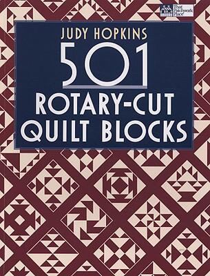 Cover image for 501 rotary-cut quilt blocks