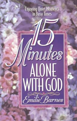 Cover image for 15 minutes alone with God