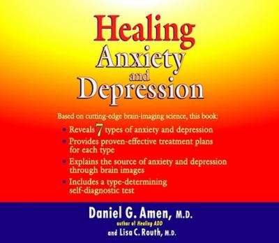 Cover image for Healing anxiety and depression