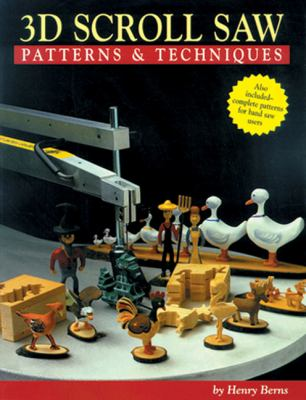 Cover image for Three-dimensional scroll saw patterns and techniques