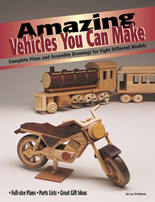 Cover image for Amazing vehicles you can make